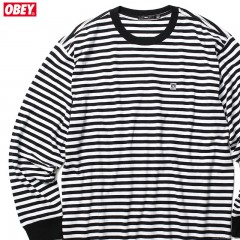 ★SALE★OBEY EIGHTY NINE ICON BOX LS (BLACK MULTI)