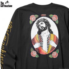 SOFTMACHINE INKED MESSIAH L/S (BLACK)