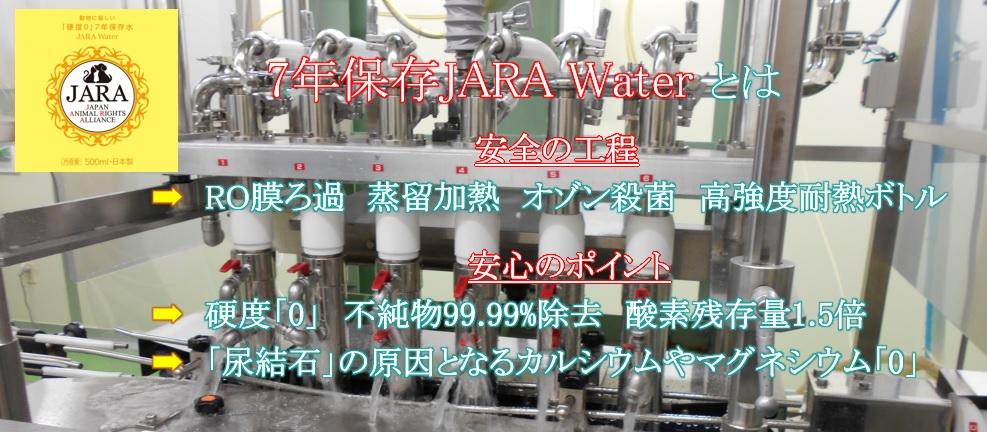 防災備蓄用7年保存7年JARA WATERとは・・・