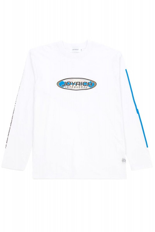 【SALE 40%OFF】Joyrich Interverse L/S Tee / WHITE