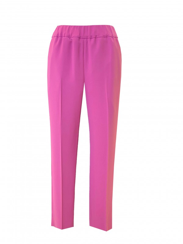 stretch slim-leg pants