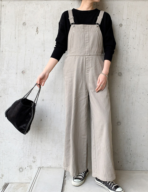 【20200310】2020S/S・New loose silhouette overall